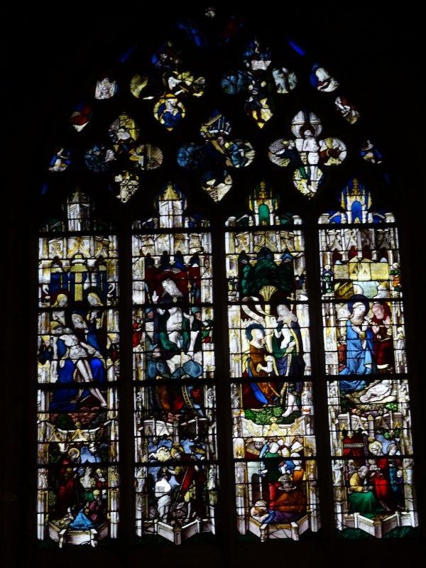 Les vitraux de Notre Dame de Vernon (2/4)
