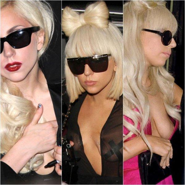 Mercredi 10 novembreLady Gaga est ses seins