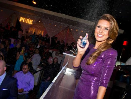 Audrina Patridge and Las Vegas Illusionist!