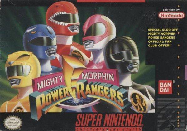 Jeu Vidéo : Mighty Morphin Power Rangers