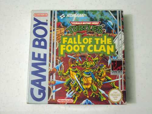 Jeu Vidéo : TMNT : Fall Of The Foot Clan
