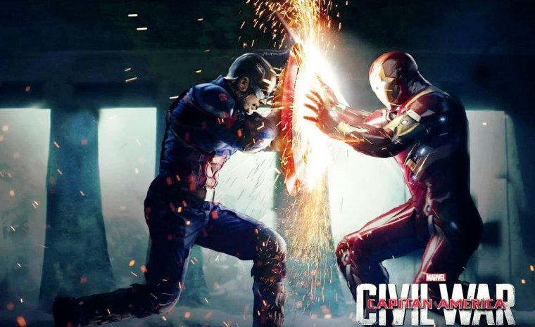 Le film... CAPTAIN AMERICA CIVIL WAR !!!!