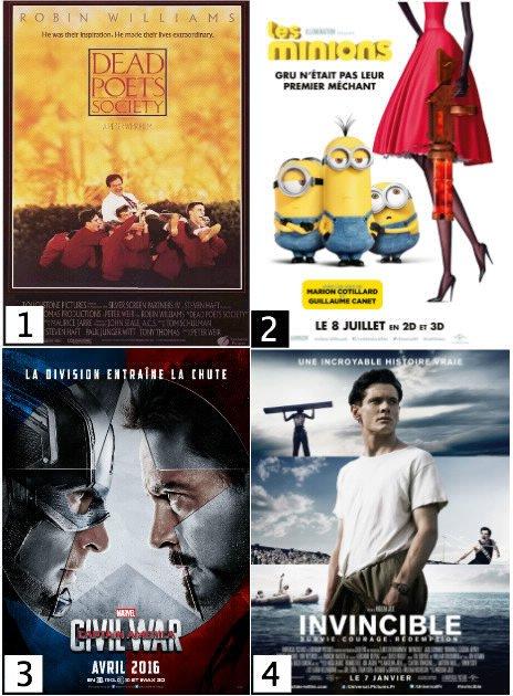 Favoris N°20 # Mai et de nouveaux films ...
