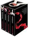 La saga des livres Twilight