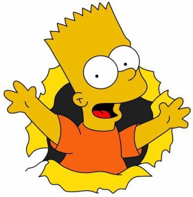 Bart simpson tout - Bart et milhouse ...