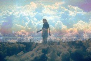 «Pourquoi les étoiles sont-elles là-haut suspendues? Pourquoi le ciel est-il si haut?»