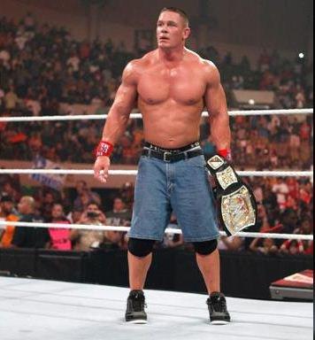 Pour la 11 eme fois champion du monde Mr John Cena