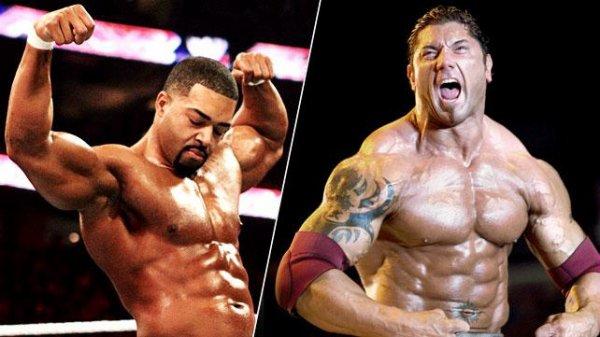 Les 20 physiques les plus impressionnants de la WWE