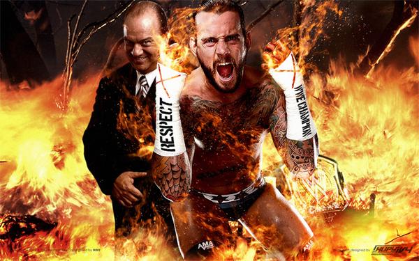Fond d'écran − CM Punk & Paul Heyman