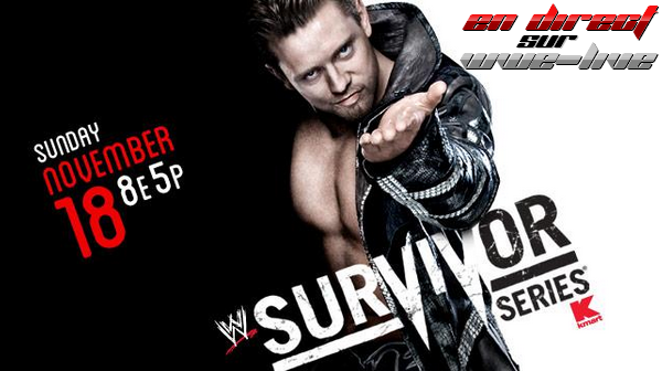 WWE Survivors Series 18/11/12 V3