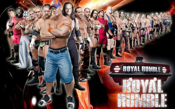 Le numéro maudit du Royal Rumble !