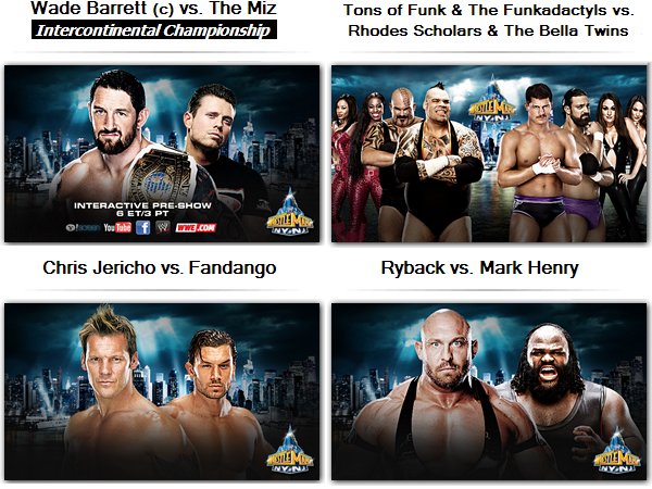 Carte de WrestleMania 29