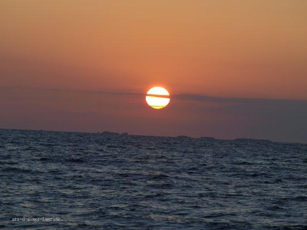 - Coucher du soleil -