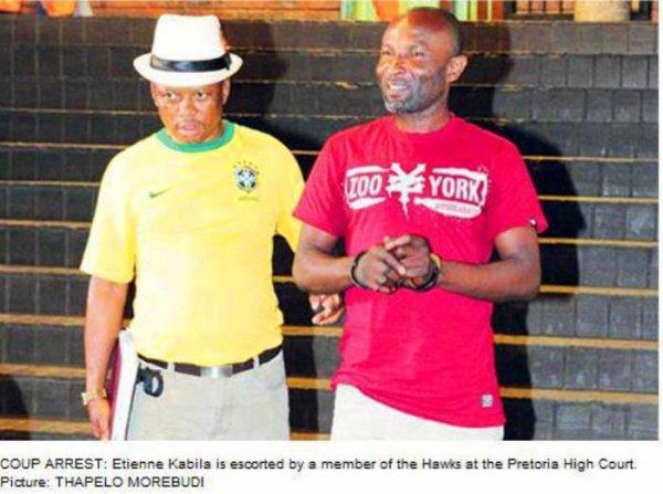Depuis sa cellule Etienne Kabila démontre dans une lettre ouverte le faux coup d'état organisé par le gouvernement Sud Africain pour piéger les combattants