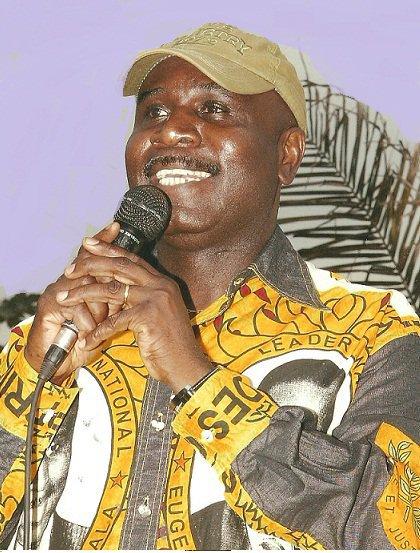 Eugène Diomi enlevé par l'ANR se lundi 8 avril 2013 à Kinshasa