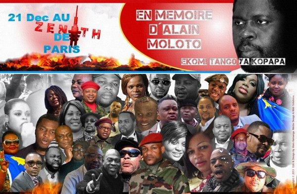 Alain Claude producteur de JB Mpiana décide de se venger sur un Congolais innocent en lui cassant le bras suite à son tabassage par les combattants ( la guerre est déclarée!!!)