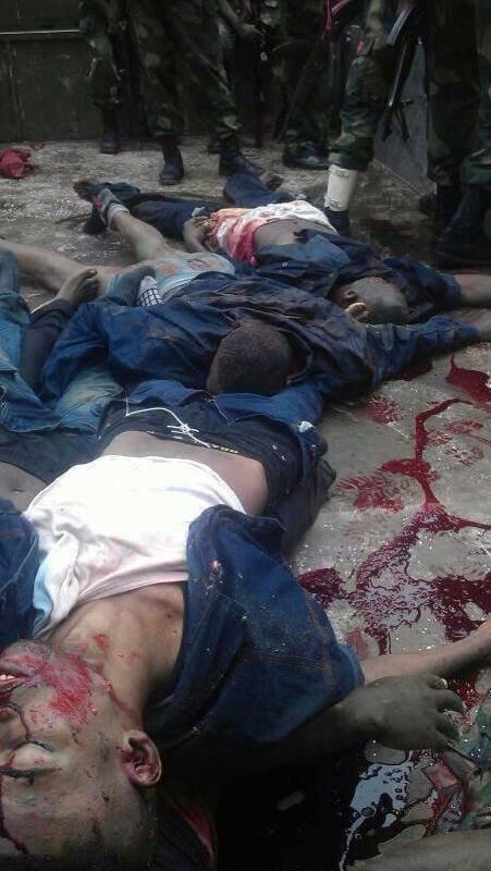 Images inédites des Congolais sacrifiés à l'aeroport de Ndjili par Bisengimana et Kabila