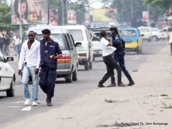 Mbuji-Mayi: la marche de l'UDPS réprimée dans la violence