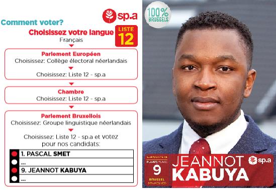 Jeannot Kabuya sort de son silence:Pour comprendre la vision que je compte défendre au parlement Bruxellois et mon programme voici une émission qui pourra vous éclairer.
