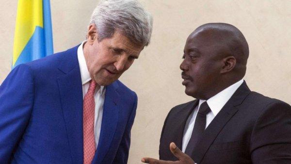 RDC: Kerry juge que Kabila ne doit pas briguer un troisième mandat