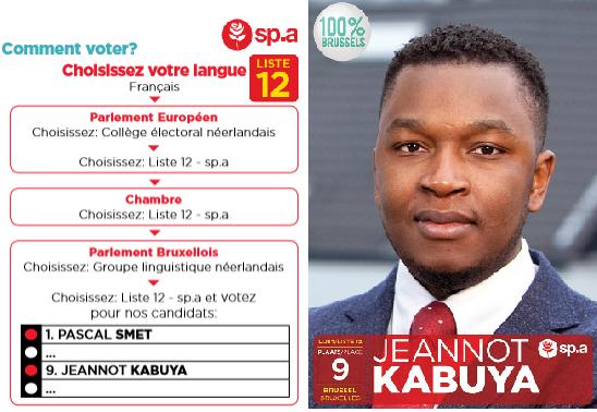 """Jeannot Kabuya : """"Une fois élu, nous allons continuer notre pression dans les institutions Belge""""+ dossier Brazza."""