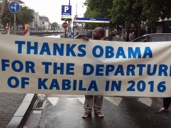 Eyindaki lelo na Bruxelles: Boketshu ayambaki Obama na message mpo ba longola Kabila na 2016 ou avant.