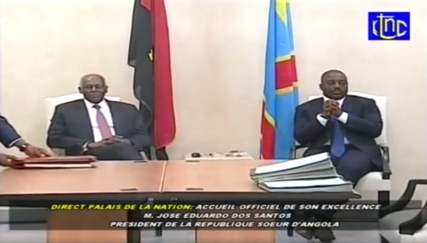 Soulèvement populaire en cours à Kinshasa...Kabila au palais du peuple avec de Santos