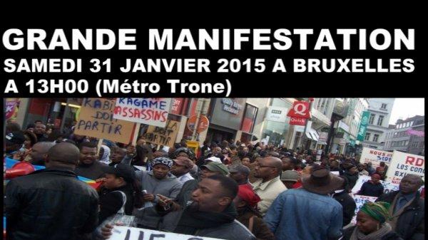 Boketshu 1er invite la diaspora à la grande marche Métro Trone samedi 31 janvier