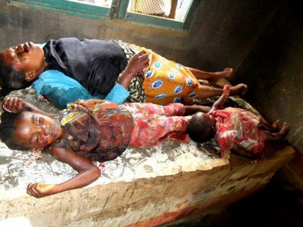 Remise des dons de la diaspora à la famille du martyr Gaby et aux victimes par balles du 19-20-21 janvier+ témoignage des corps confisqués par le régime Kabila