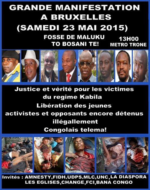 La chanteuse Burundaise Khadja Nin interpelle les médias contre la dictature et la repression des manifestants dans son pays à l'inverse Tshalamuana insulte ses compatriotes et justifie les massacres du régime Kabila