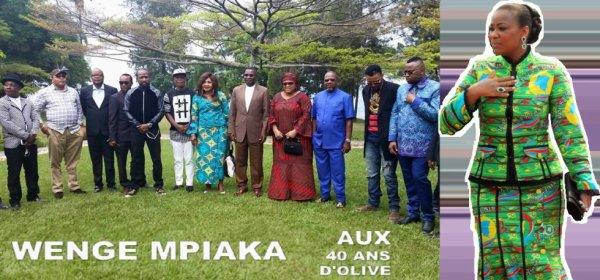 Olive L. Kabila réinvente les règles de calcul : Elle fête son 40ème anniversaire au lieu du 39ème