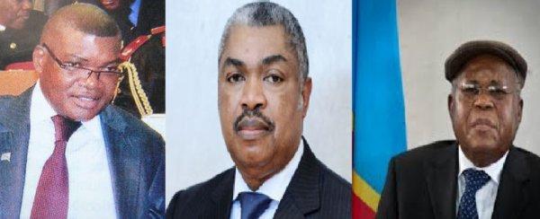 """Samy Badibanga et Kalev Mutond en mission à Bruxelles pour convaincre Etienne Tshisekedi de former un gouvernement avec Kabila après le """"DIALOGUE"""""""