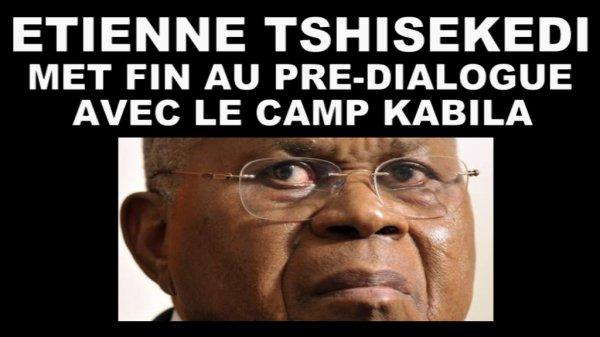 Bruxelles. Étienne Tshisekedi met fin aux pré-négociations avec le camp Kabila