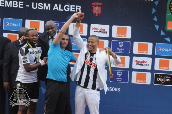 Mazembe remporte son 5e titre félicitations à tout le staff!