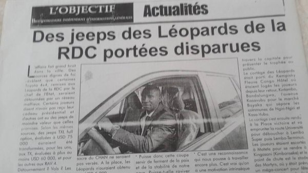Après la Ville morte Jeannot Kabuya (ALTERNANCE-243) lance l'opération NZUNGU et réagit à l'actualité de Katumbi-Fayulu-Léopards et Kindoki ya Maman Misamu