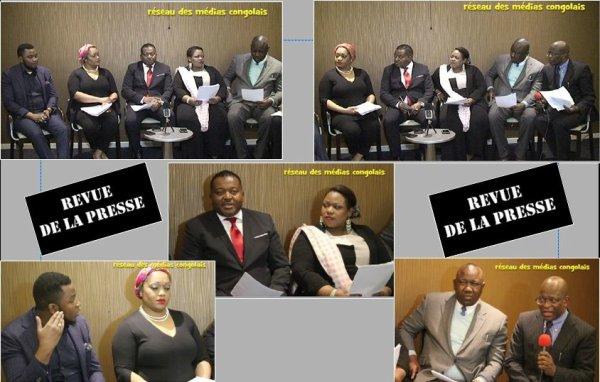 Réseau des médias congolais, revue de la presse 12 mars 2016