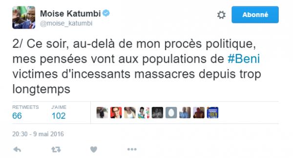 En direct de Lubumbashi : Moïse Katumbi l'opposant que Kabila veut neutraliser à tout prix se présente devant la justice