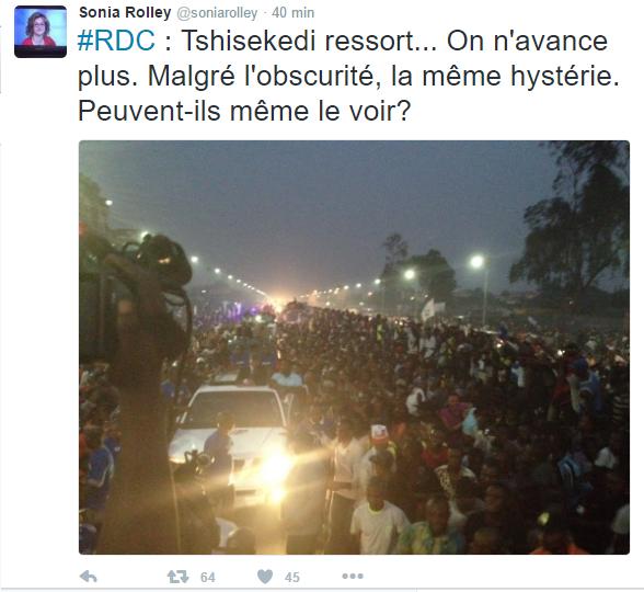 Urgent: Vidéo du Départ d'Etienne Tshisekedi pour Kinshasa en exclusivité Mondiale
