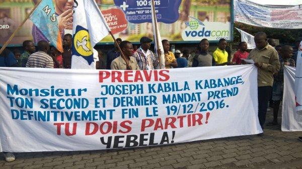 Goma ce matin : Bana BXL rendez-vous devant l'ambassade à 13h