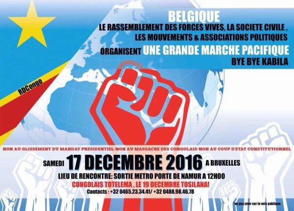 Ndeko Eliezer donne la Température 7 jours avant le face à face Kabila-peuple