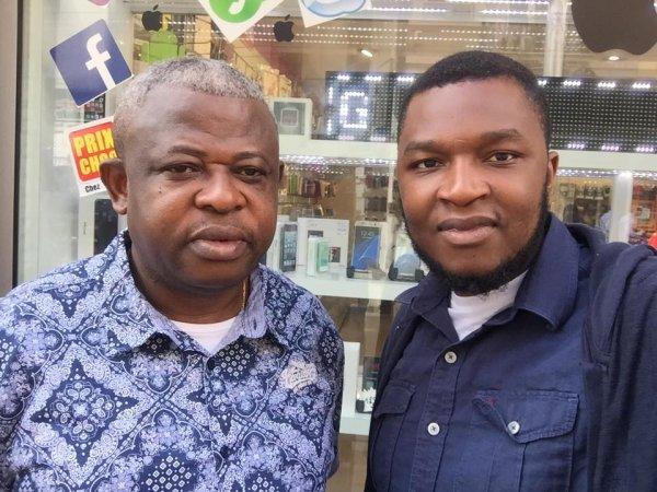 Petite visite ce matin de l'abbé Nshole, je lui ai dit que la Diaspora Eboyi 3 ème Dialogue na Kabila. Le 31 décembre Art 64.