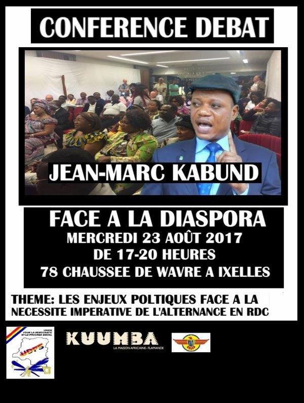 Albert Mukendi annonce la rencontre de Jean-Marc Kabund face à la Diaspora