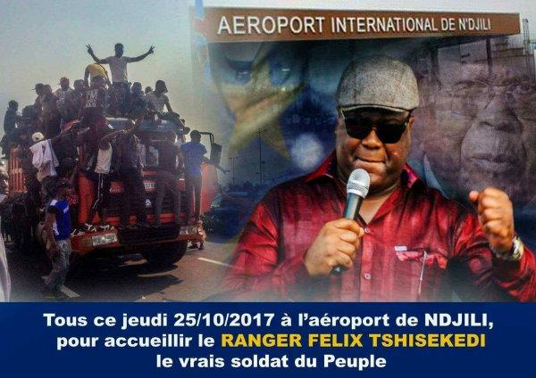 Felix Tshisekedi abundi na BANA MURA na Katanga et Kamerhe abandonne Tshibala