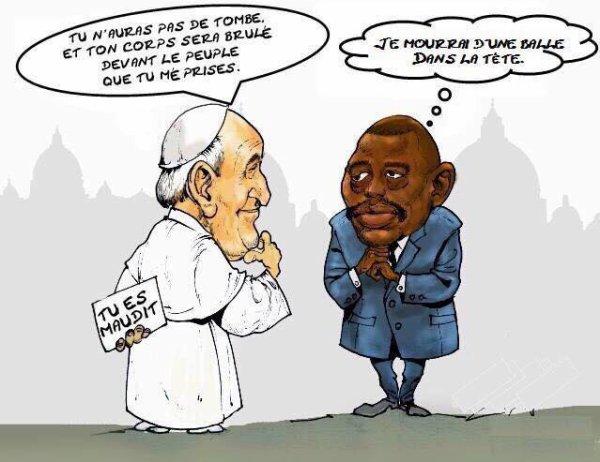 Joseph Kabila attend sa balle.