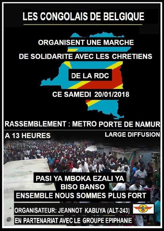 André Kimbuta akufi na FACEBOOK et ba gifler batu ya PPRD na messe de Laurent Kabila par la police