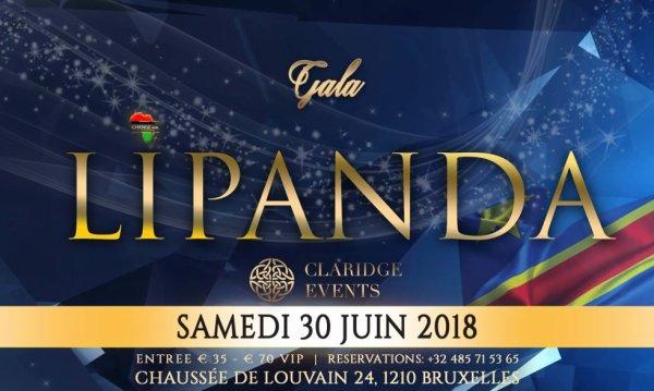 Soyez nombreux a la soirée LIPANDA ce samedi 30 juin 2018