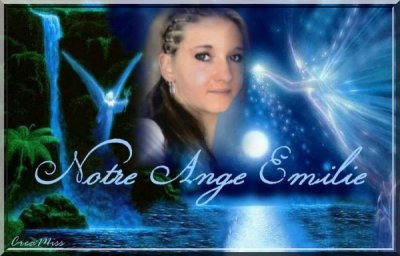 Merci à mon amie Elodie (créationMiss ) pour ce montage de mon ange