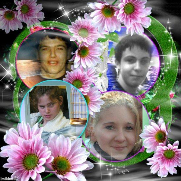 Merci à mon amie Marie du blog (Nicolas-Panevelles ) pour ce montage de mon ange