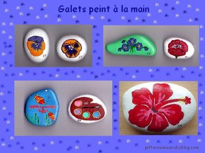Galets Peint A La Main Mes Tableaux De Tout Genres Et De Toute Mati Res