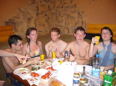 Photos porno au bain russe